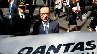 Qantas CEO Alan Joyce has played his hand well.