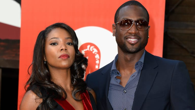 Star power: Gabrielle Union and Dwayne Wade.