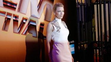 Cate Blanchett at the BFI London Film Festival Awards on October 17.
