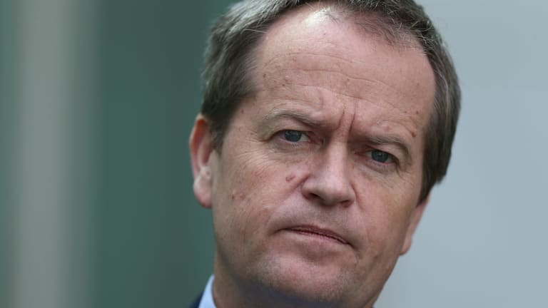 Bill Shorten says the deployment is a distraction from questions over the downing of MH17.