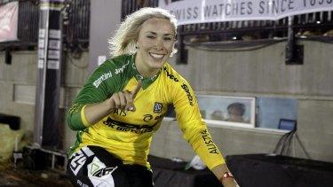 Caroline Buchanan won another world championship on Friday night.