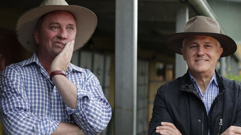 Prime Minister Malcolm Turnbull began this saga by wheeling out Barnaby Joyce to mock the Greens.