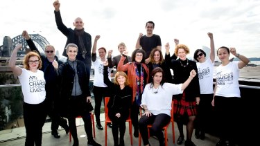 Arts leaders led by MCA director Liz Ann Macgregor and the STC's executive director Patrick McIntyre have launched a campaign against arts funding cuts.
