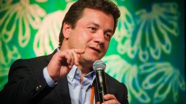 JBS CEO Wesley Batista in Darwin in February 2016.