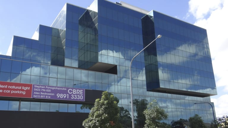 Dyldam Developments has paid $24 million for 460 Church Street, Parramatta office tower with plans to develop apartments.    DSC01517.jpg