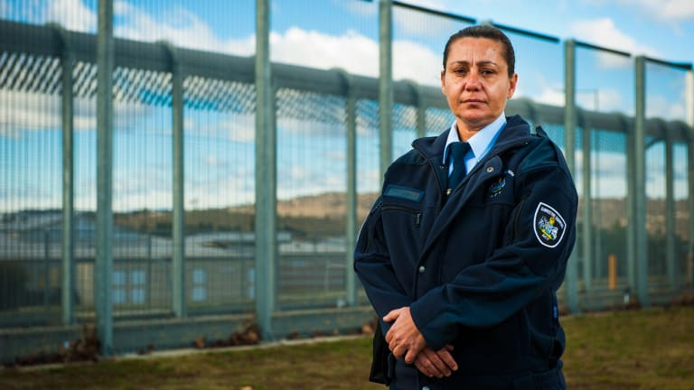 New guard recruit to the Alexander Maconochie Centre, Ida Hanley, hopes she can help rehabilitate Indigenous inmates.