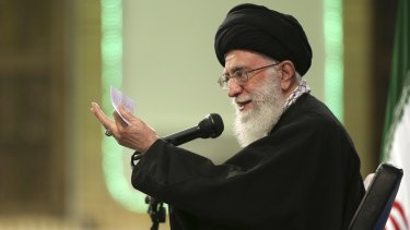 "Iran Supreme Leader Ayatollah Ali Khamenei:""The Saudis will, for sure, be harmed by this and get their nose rubbed in the dust."""