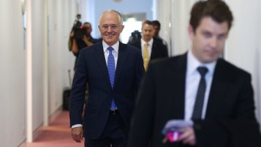 """It's easy to be very cynical as, frankly, you are being"": Prime Minister Malcolm Turnbull criticised ABC radio host Jon Faine on his description of the intern scheme."