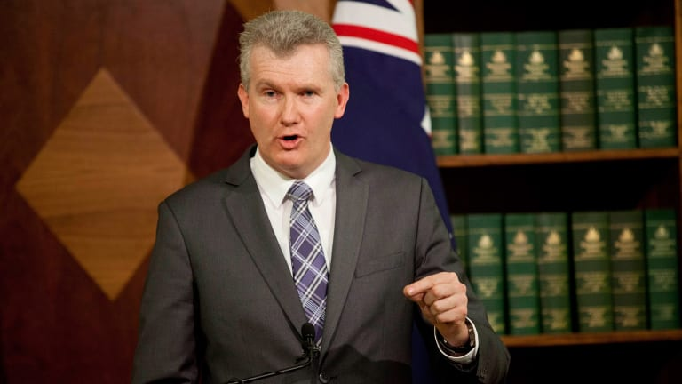 Labor frontbencher Tony Burke.