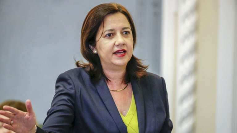 Premier Annastacia Palaszczuk promised to set up an inquiry in to political donations.