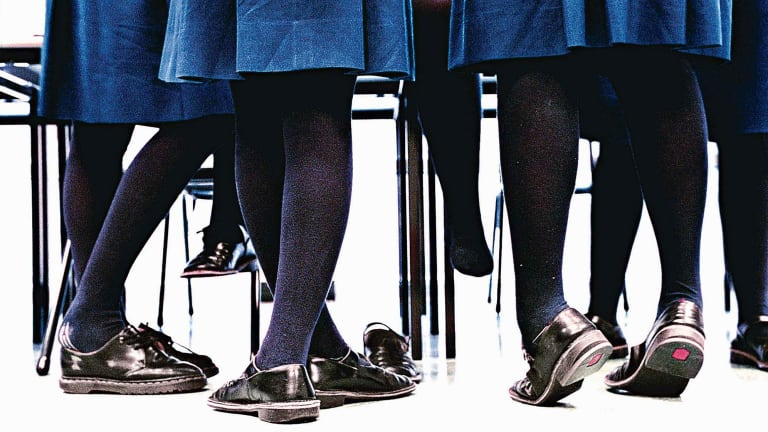 Single-sex schools are becoming less popular.