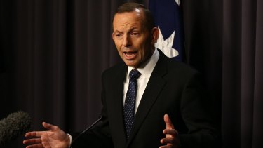 Swinging voters think ex-PM  Tony Abbott is a sook.