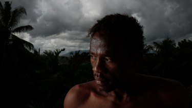 Abdul Aziz Adam, 24, from Sudan, has been on Manus Island for nearly four years.