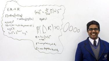 Sydney mathematics whiz Seyoon Ragavan scoops gold at International