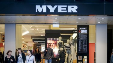 Myer has been rebuked by the Fair Work Ombudsman.