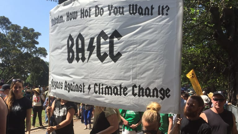 Sydney Climate Rally: Bogans against climate change