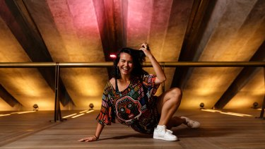 Contemporary dancer Amrita Hepi is conducting a Beyonce v Rihanna dance class.