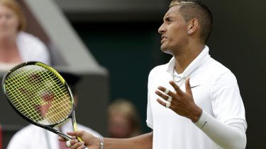Controversial tournament: Australia's Nick Kyrgios.
