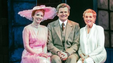 Charles Edwards says playing Professor Higgins in <i>My Fair Lady</I>, which stars Anna O'Byrne (left) as Eliza Doolittle and is directed by Dame Julie Andrews, is a 'big deal'.