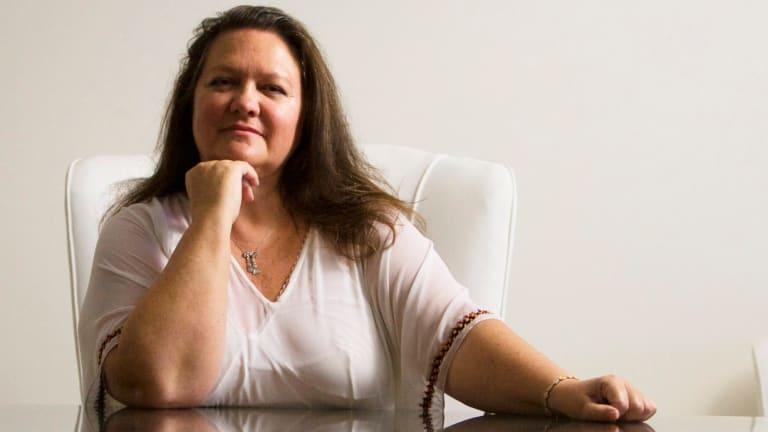 Gina Rinehart remains dissatisfied with the leadership of Fairfax Media.
