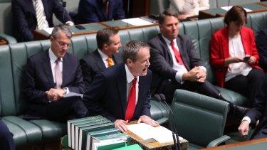 Opposition Leader Bill Shorten moved a motion in Parliament on Wednesday, calling for Prime Minister Tony Abbott to sack Senator Johnston..