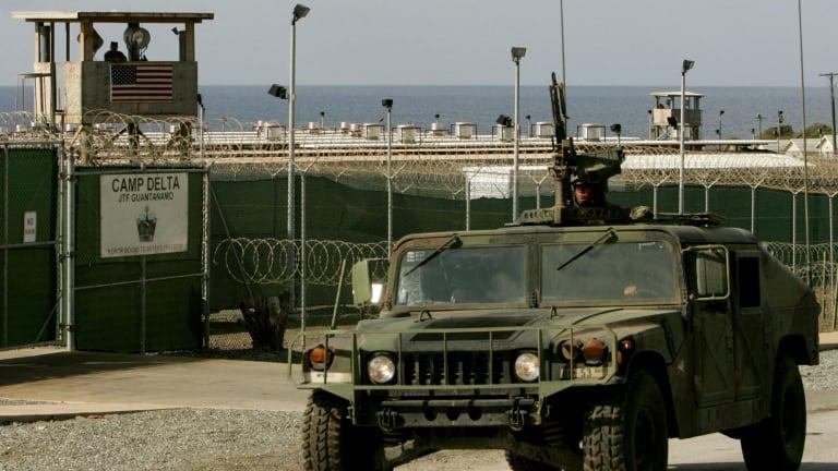 The maximum security prison Camp Delta at Guantanamo Naval Base, where Hambali has been held.