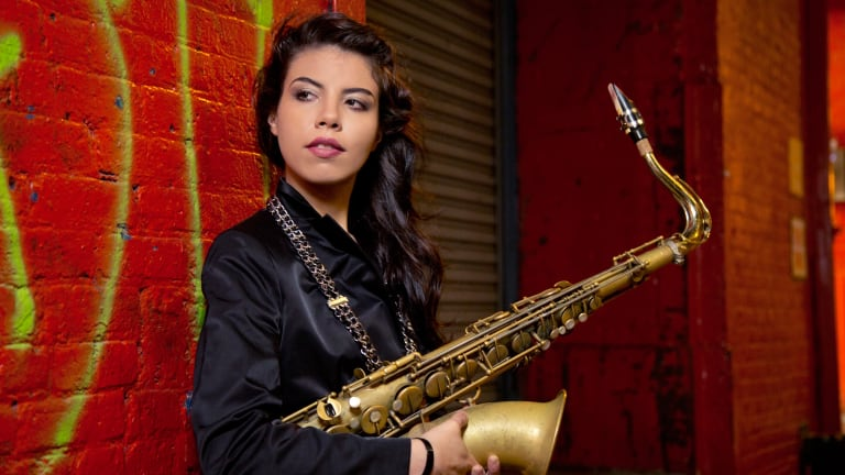 Melissa Aldana makes her Australian debut in the Sydney International Women's Jazz Festival.