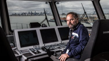 Sea Shepherd's captain Adam Meyerson, pictured in the Ocean Warrior, is about the embark on his fourth protest campaign in the Southern Ocean.