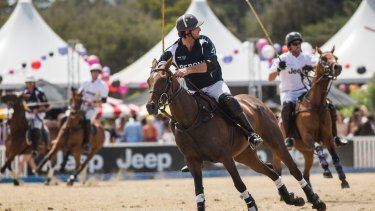 The Portsea Polo 2016 event.