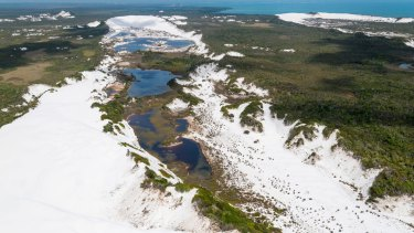 A vast area of Shelburne Bay has been returned to its traditional owners, the Wuthathi, on Cape York Peninsula.