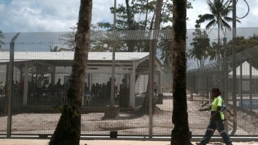 Australia's offshore immigration detention centre on Manus Island.