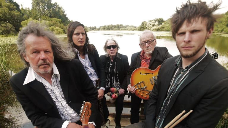 The Pretty Things (Dick Taylor, second from right)