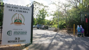 The Islamic School of Canberra's federal funding ran out on July 1.