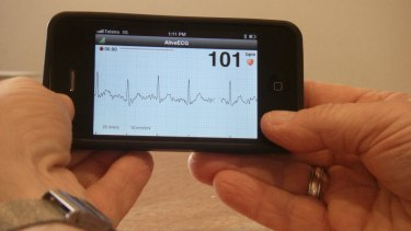The iECG iPhone app by the University of Sydney provides detects heart rhythm problems. The information can help reduce the risk of stroke particularly in people over 65.
