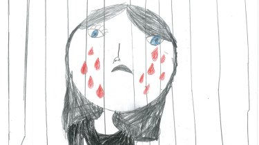 A drawing from a child in detention.