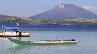 The Indonesian island of Flores, where Ali Yasmin lives.