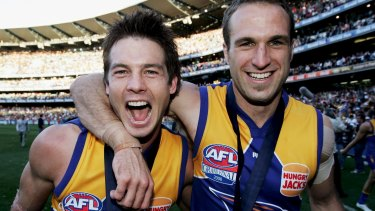 Premierships are notoriously tough to win but it's hard not to argue the Eagles shouldn't have won more with Ben Cousins and Chris Judd playing alongside each other.