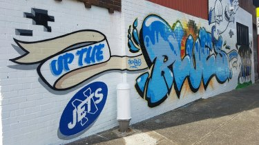 Newtown Jets on the streets.