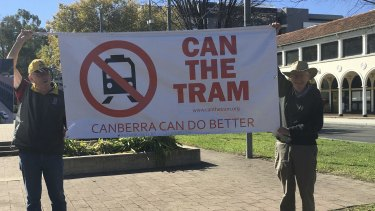 Not everyone is supportive of the Labor government's plans for light rail.