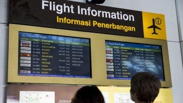 Ngurah Rai International Airport, Bali.
