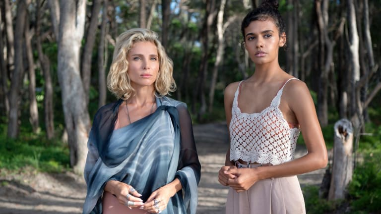 Else Pataky and Madeleine Madden in the supernatural mystery Tidelands.
