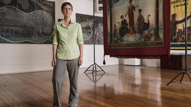 """""""When [the law] is unjust, I don't think there's a problem with breaking it"""": ACTU secretary Sally McManus."""