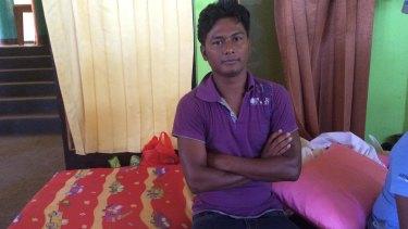 Bangladeshi Mohammad Belayer Hossain.