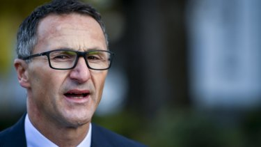 'Challenge accepted': Greens leader Richard Di Natale has swung his party's support behind Jamie Oliver's sugar tax.
