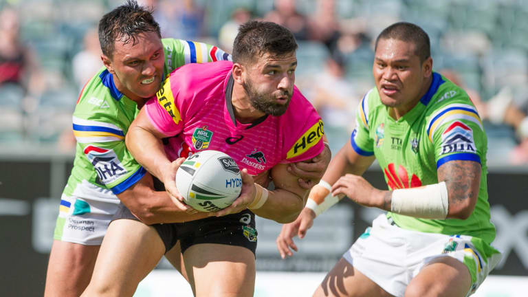 The NRL has been ablaze with talk about the lethal combination between Jordan Rapana and Joey Leilua.