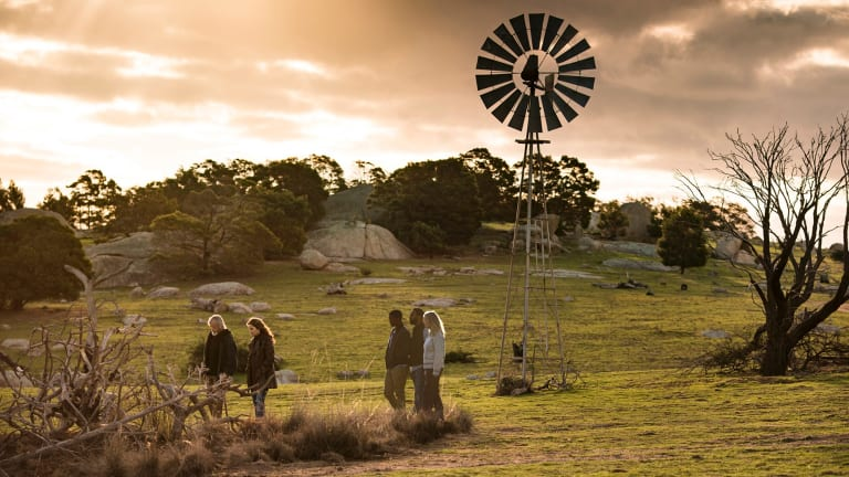 The Victorian countryside features prominently in the final season of the cult show.