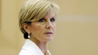 Foreign Minister Julie Bishop (pictured) and Communications Minister Malcolm Turnbull both criticised the way Mr Abbott conducted the debate.
