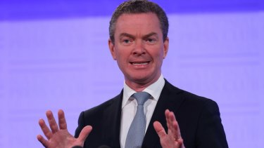 Criticised: Education Minister Christopher Pyne is adamant that the changes are necessary.