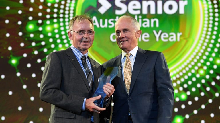 Australian National University scientist Graham Farquhar has been named the Senior Australian of the Year.