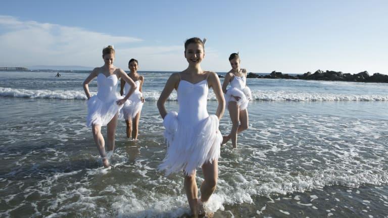 Australian Ballet dancers (from left): Heidi Martin, Karen Nanasca, Benedicte Bemet, Brooke Lockett.